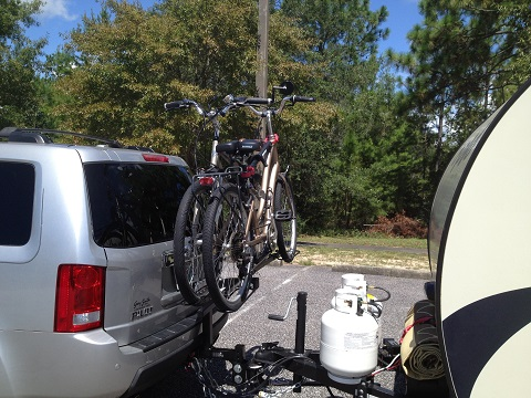 Bike Carrier With R Pods R Pod Owners Forum